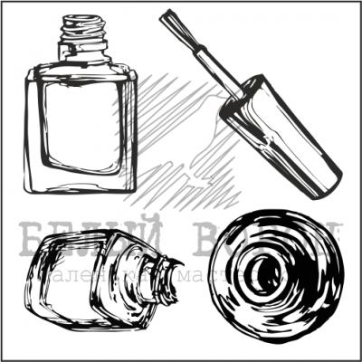 "набор ""Бутылочки лака для ногтей"""