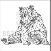 "штамп ""Медведь"""