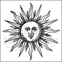 """штамп """"Солнце"""""""