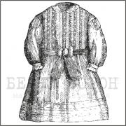 """штамп """"Платье №2"""""""