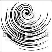 """штамп """"Спираль"""""""