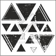 "штамп ""Треугольники"""